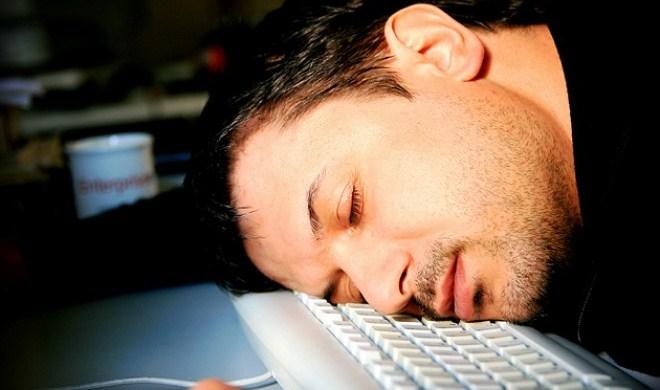 уснул на клавиатуре